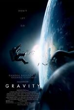 GRAVITY MOVIE POSTER DS ADVANCE 27x40 GEORGE CLOONEY SANDRA BULLOCK
