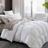 Luxury White Goose Down Comforter/Duvet Lightweight All Seasons Twin/Twin XL