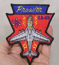 Vintage Military Patch Prowler EA 6B Plane Lightning Bolts