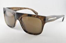 Giorgio Armani AR 8038 529573 Striped Brown Mens Sunglasses