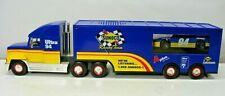 Sunoco Oil Race Car Transporting Truck & Trailer 1997