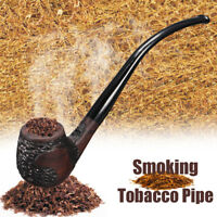 Afrikanisch Ebenholz Holzpfeife Retro Vintage  Tabak Zigarre Pfeife mit  !