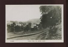 Glos Gloucestershire STROUD from Grange Fields c1930/40s? RP PPC by Kingsway