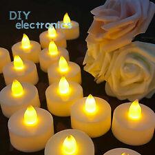 Flameless LED Candle Battery Operated Tea Lights Flickering Wedding Xmas US