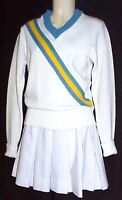 Cheerleader Outfit UCLA Colors Vintage Movie Worn Hollywood Movie Costumes