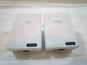 D-Link DHP-700AV Powerline AV2 2000 GigaBit Network Extender Set