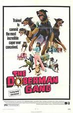 THE DOBERMAN GANG original 1972 27x41 one sheet movie poster