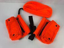 VTG Fieldline Hunting Blaze Orange Fanny Pack Ammo Pouch Waterproof Belt Bag