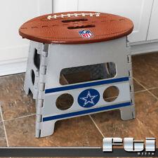 "Dallas Cowboys NFL Football Light Weight Durable Folding Step Stool 14"" x 13"""