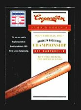 2012 Panini Cooperstown Baseball Hall of Fame Famous Moments #4  Roy Campanella