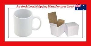 11oz 36 White Sublimation Coated Mugs with Individual Gift Boxes