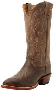 Nocona MD2701 Tan Vintage Cow Western Cowboy Boots