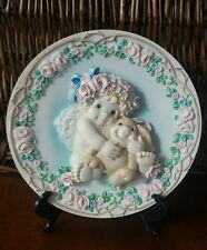 THE HAMILTON COLLECTION DREAMSICLES PLATES BY KRISTIN SPECIAL FRIENDS SCULPTURAL