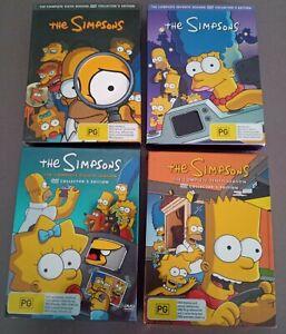 THE SIMPSONS BULK DVD Box Sets - Seasons 6,7,8,10 - Region 4