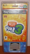 (Eye Toy) EyeToy: Play 3 + cámara USB, PlayStation 2, PS2, PStwo, PAL-ESP, NUEVO