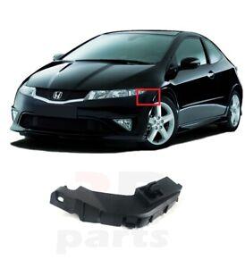 Per Honda Civic 2006-2011 Hatchback Nuovo Paraurti Anteriore Supporto SX E / S