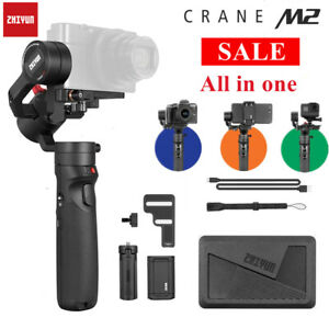 NEW ZHIYUN Crane M2 3-Axis Handheld Gimbal Stabilizer for Gopro Action Cameras