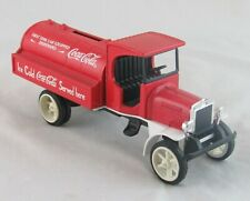 Coca Cola First Tank Car Equipped Dispensing Coin Bank, Ertl, Loose with Key