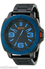 Hugo Boss 1513160 Sao Paulo Black Dial Black Ion Plated Men's Watch