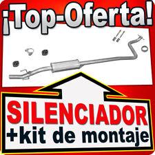 Silenciador Intermedio TOYOTA YARIS 1.0 16V 68PS 1999-10.2005 Centro Escape KKX
