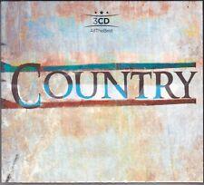 3 CD ♫ Audio Box Set COUNTRY ~ SUCCESSI ~ THE BEST ~ IL MEGLIO nuovo