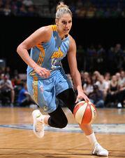WNBA Chicago Sky ELENA DONNE Glossy 8x10 Photo Color Poster Basketball Print