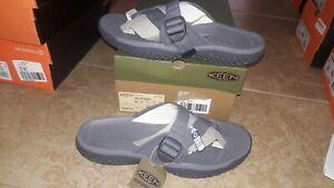 NEW $75 Mens Keen SOLR Toe Post Sandals, size 12          shoes