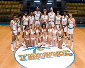 ABA Flint Tropics Semi Pro Movie Color Team Picture 8  X 10 Picture Photo