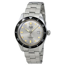 Oris Divers Sixty-Five Silver Dial Automatic Mens Stainless Steel Watch 01 733