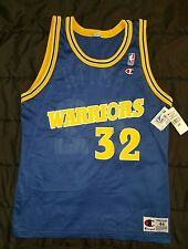Vintage Joe Smith #32 NBA Golden State Warriors Champion jersey size 44 Go DUBS