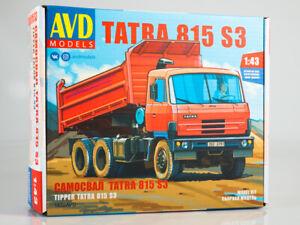 Tatra 815S3 Czech Dump Truck assembly model 1/43     AVD Models 1432AVD