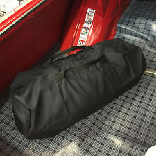 California Car Cover Black Cotton Zippered Storage Duffel Bag for Car Covers