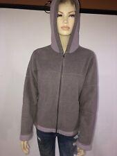 Patagonia Synchilla Women's Hoodie Jacket Fleece Zip Up Lavender Size L