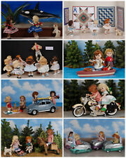 NEW++ Vintage Ginny Doll 'Going More Places' Greeting Cards