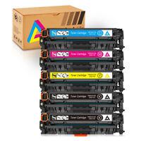 5PK CC530A-CC533A 304A Toner For HP LaserJet CM2320n CM2320nf CM2320fxi CM2320mf