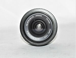 Vivitar 28mm 1:2.8 MC Wide Angle Lens for Pentax PK Mount with caps VGC