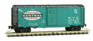 Micro-Trains MTL Z-Scale 40ft SD Box Car New York Central/NYC(Jade Green) #87230