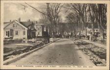 Montpelier VT 1927 Flood Damage VINTAGE EXC COND Postcard #10