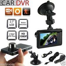 """Full HD 2.7"""" 1080P Car Vehicle DVR Autokamera Video Recorder Kamera G-Sensor DE"""