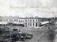 "Pawnee City NE ""Main Business Block"" © 1900 Reprint Vintage Photography"