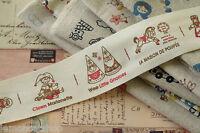 Wee Gnomes & Dolls Sewing Tape 3m cartoon cotton ribbon zakka sewing craft trim