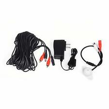 Tonton Microphone Audio Pickup Device Sound Voice 60ft Cable 12v 2a Power Supply