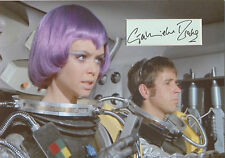 GABRIELLE DRAKE Signed 12x8 Photo Display Lt Gay Ellis In UFO COA