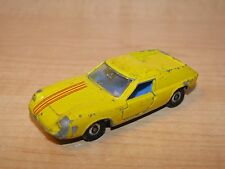 Vintage Impy Lone Star Flyers Lotus Europa Yellow Old Style Wheels