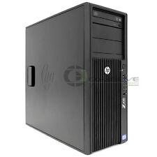 HP Z420 Desktop/ Workstation Intel E5-1650 3.2 GHz/12GB RAM /500GB SSD HDD/Win10