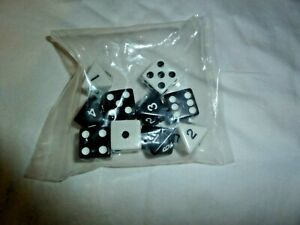 AVALON HILLL RISK 2210 AD GAME~~2001~~PKG 5- 6 SIDED DICE~~NEW UNOPENED