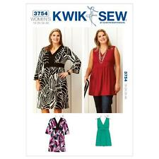 Kwik cousue Couture Motif femmes robe & TUNIQUE TAILLE 1x - 4 x k3754