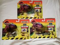 Matchbox The Lost World Jurassic Park Tracker/Trapper 4x4, Rescue Truck, Humvee