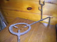 Vintage Hand Forged Cast Iron Fireplace TRI POD / TRIVET