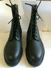 Vintage combat / military boots, men's 8 W, by Cove Shoe Company, steel toes.